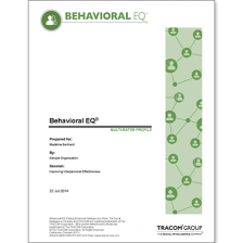 Behavioural EQ Profiles