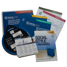 Managerial SOCIAL STYLE® Self-Perception Administration Kit
